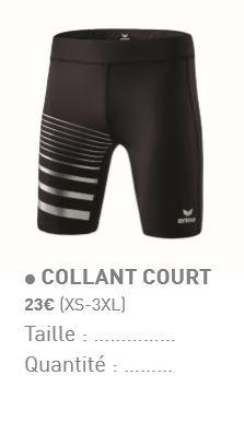 Collant court